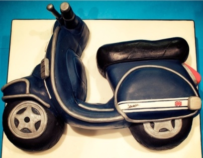Vespa 21st Birthday Cake