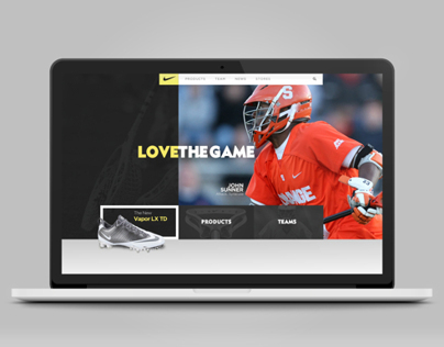 Nike Lacrosse.com  (Pitch)