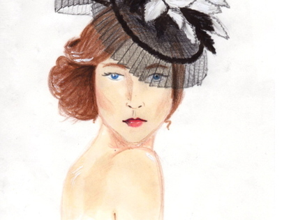 Formé Millinery Fashion Illustrations