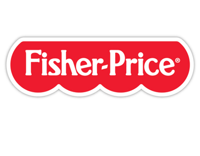 Fisher Price Wordmark Evolution