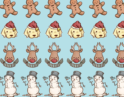 Christmas 2013 pattern (free wallpapers!)