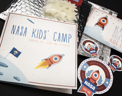 Nasa Kids Camp // Direct Mail