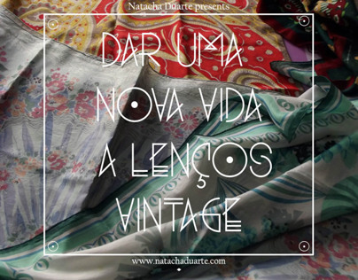 Bairro das Colónias -  Scarves Collection //