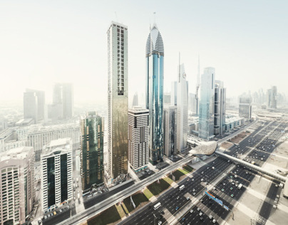 Dubai Surreal City