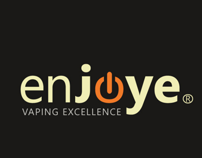 Logo for electronic cigarette Enjoye
