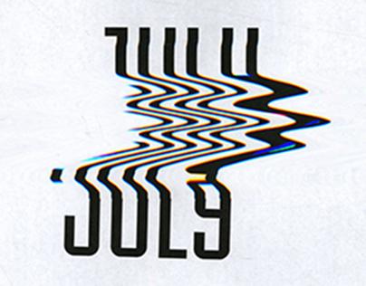 Experimental Typography Calendar