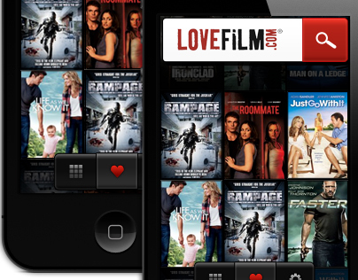 LoveFilm iPhone Application