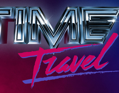 Time Travel 1980s Advertising