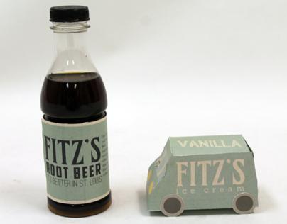 Fitzs Root Beer Packaging