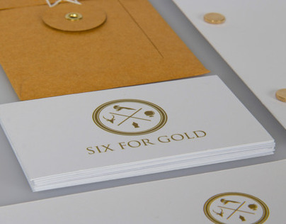 Six For Gold, Identity Design