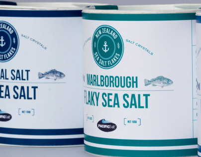 Dominion Sea Salt, Packaging Redesign