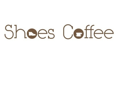Shoes Coffee Logo