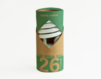 Eco-Friendly Lightbulb Packaging