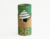Eco-Friendly Lightbulb Packaging