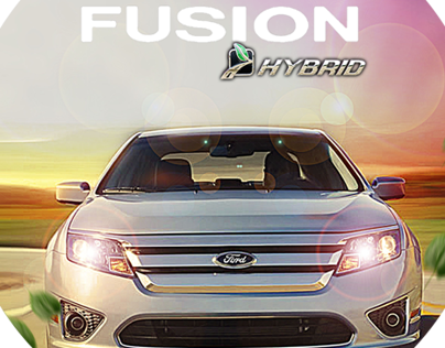 ford fusion hybrid advertising