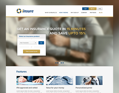 iinsure- Web & Logo Design