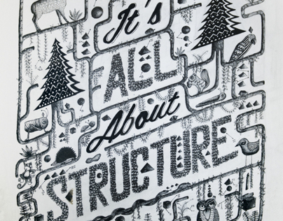 Its all about structure | Illustration