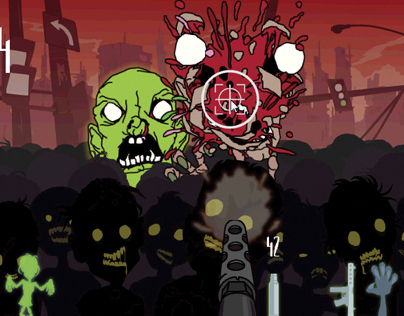 Zombies attack on Jupiter