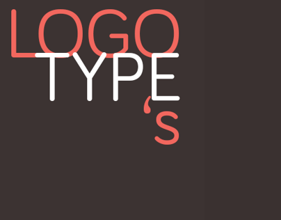 LOGOTYPE's - little showecase