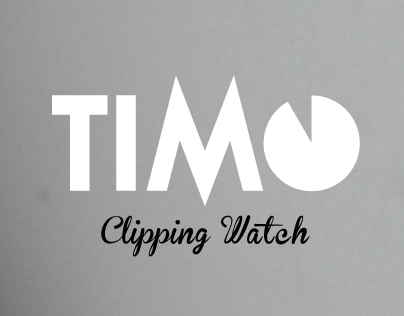 The TIMO - Clipping Watch by Gautier Breuvart