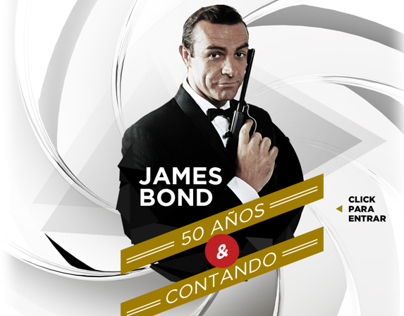 Especial James Bond 50 años.
