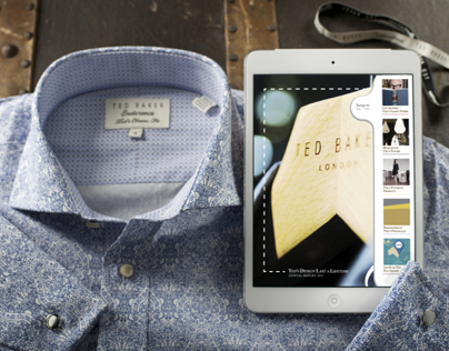 Ted Baker iPad Annual Report