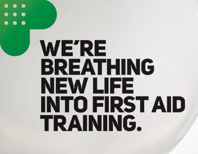 Royal Life Saving Society First Aid Branding