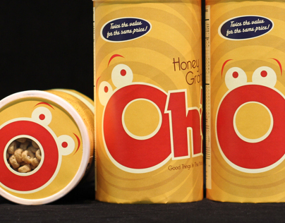 Ohs! Cereal - Packaging