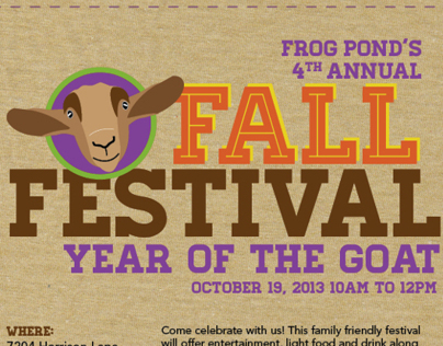 Frog Pond - Year of the Goat Collateral