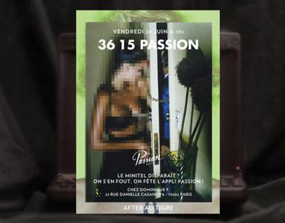 Affiches Passion - Evénements