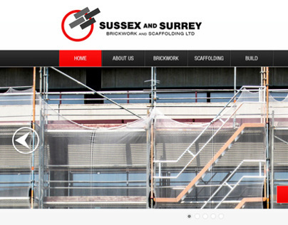 Sussex and Surrey Website Design Concept