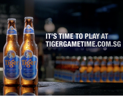 Tiger Beer: Game Time