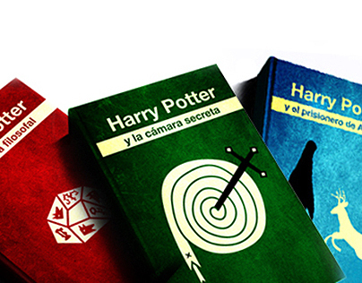 Harry Potter Redesign Books