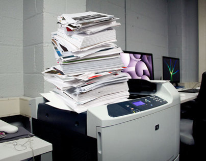 Discarded Printouts