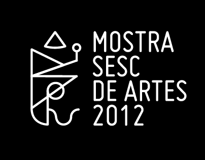 Visual Identity Project for Sesc Art Exhibition 2012