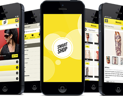 Smart Shop E-commerce Retina Mobile Ui