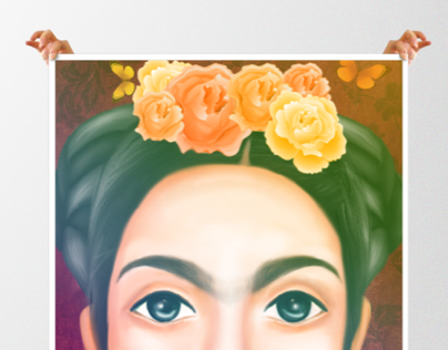 Frida Kahlo by gmdae