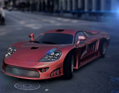 Ferrari in mental ray