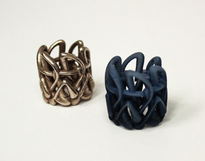 Michelangelo-Inspired Ring