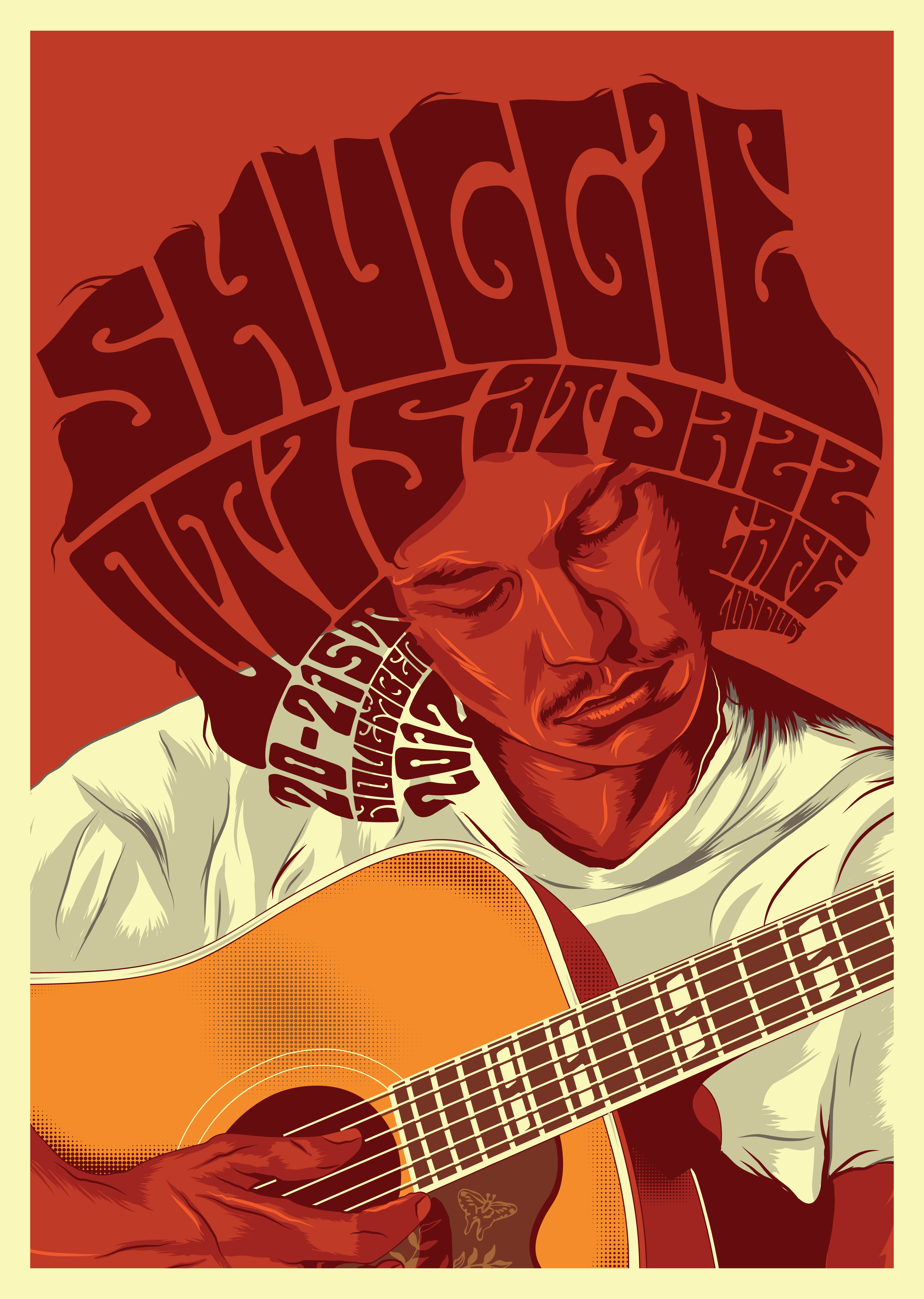 Shuggie Otis At Jazz Cafe Gig Poster