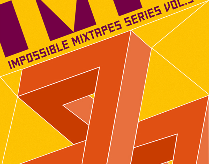 Impossible mixtapes series CD cover art