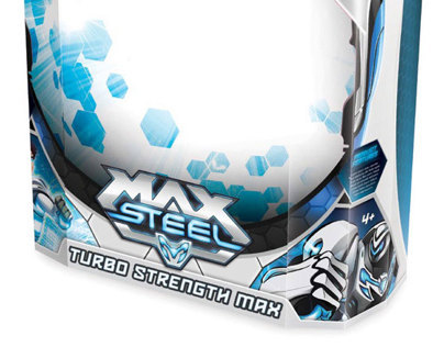 Max Steel packaging