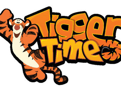 Tigger Time logo concepts
