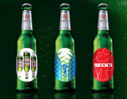 Becks Art Label Project 2013