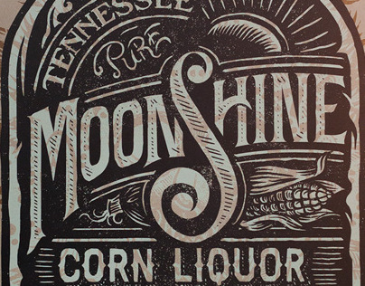 Aldos Tennessee Moonshine Corn Liquor