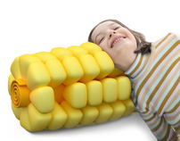 Sweet corn pillow (2010)