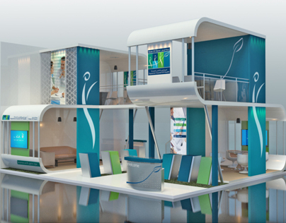 Supreme Council of Health Stand Design