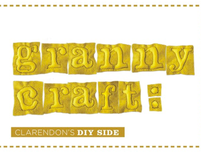 Granny Craft: Expressive Typeface