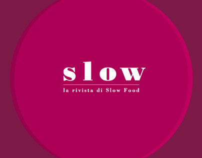Slow 01 - wine. the SlowFood magazine
