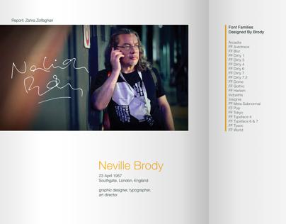 Typographer Reports